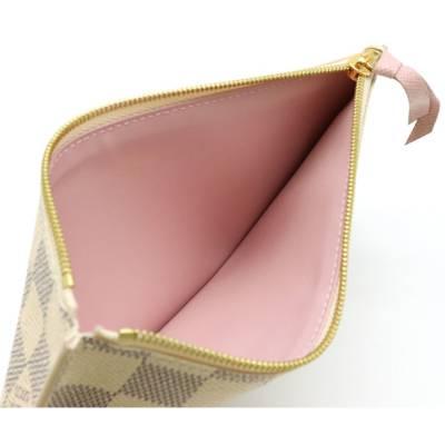 Louis Vuitton Blue/White Damier Azur Pochette Felicie Clutch Bag 357777 - 7