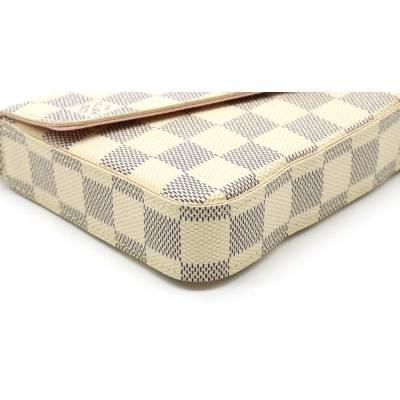 Louis Vuitton Blue/White Damier Azur Pochette Felicie Clutch Bag 357777 - 8