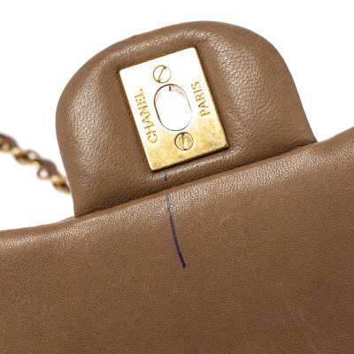 Chanel Beige Leather Paris-Rome Coco Top Handle Bag 359760 - 7