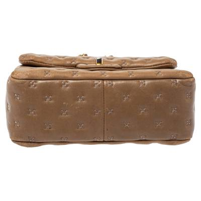 Chanel Beige Leather Paris-Rome Coco Top Handle Bag 359760 - 8