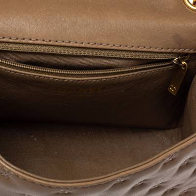 Chanel Beige Leather Paris-Rome Coco Top Handle Bag 359760 - 9