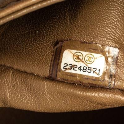 Chanel Beige Leather Paris-Rome Coco Top Handle Bag 359760 - 10
