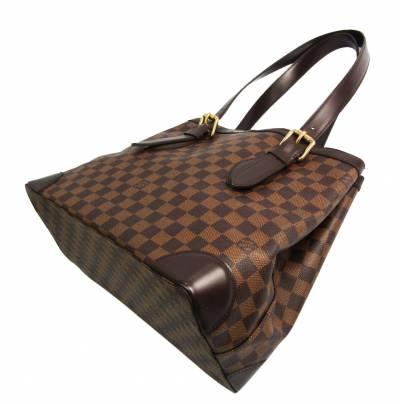 Louis Vuitton Damier Ebene Canvas Hampstead MM Bag 357234 - 1