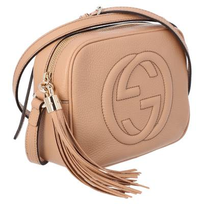 Gucci Brown Leather Soho Small Disco Bag 359592 - 1