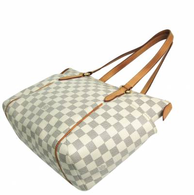 Louis Vuitton Damier Azur Canvas Totally PM Tote Bag 357222 - 1