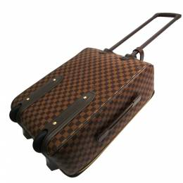 Louis Vuitton Damier Ebene Canvas Soft Case Pegase 55 Trolley Bag 357257