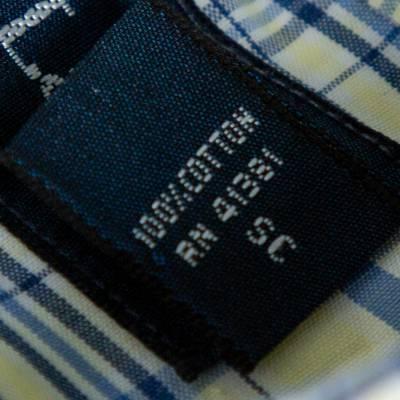 Ralph Lauren Pale Yellow Checked Cotton Button Down Shirt 3XL 358337 - 5