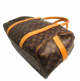 Louis Vuitton Monogram Canvas Carryall Boston Bag 357246