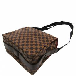Louis Vuitton Damier Ebene Canvas Naviglio Bag 357274