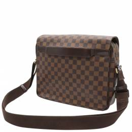 Louis Vuitton Damier Ebene Canvas Shelton MM Bag 357477