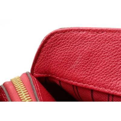 Louis Vuitton Red Monogram Empreinte Montaigne BB Bag 357470 - 3