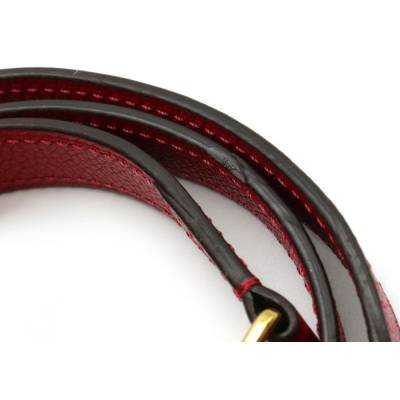 Louis Vuitton Red Monogram Empreinte Montaigne BB Bag 357470 - 7