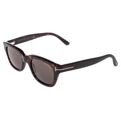 Tom Ford Brown Tortoise Snowdon Wayfarer Sunglasses 357007 - 2