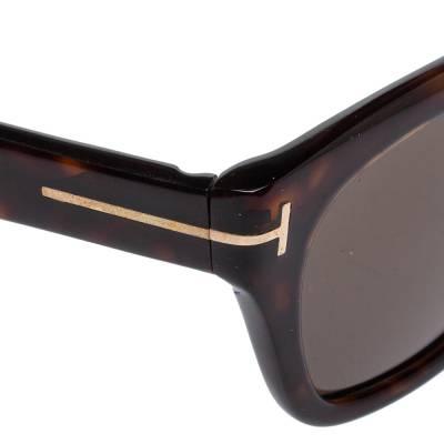 Tom Ford Brown Tortoise Snowdon Wayfarer Sunglasses 357007 - 3