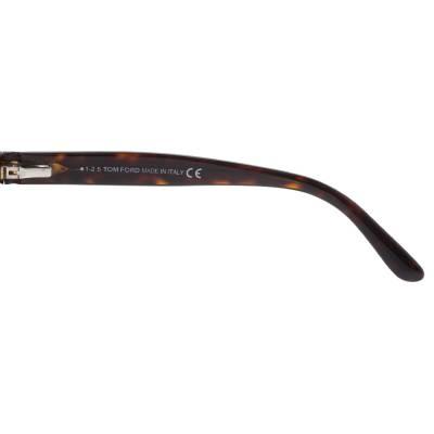 Tom Ford Brown Tortoise Snowdon Wayfarer Sunglasses 357007 - 4