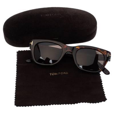 Tom Ford Brown Tortoise Snowdon Wayfarer Sunglasses 357007 - 6