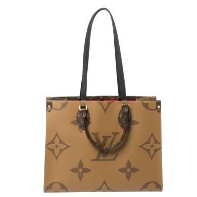 Louis Vuitton Reverse Monogram Canvas Giant Onthego MM Bag 360215 - 3