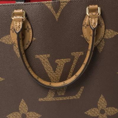 Louis Vuitton Reverse Monogram Canvas Giant Onthego MM Bag 360215 - 4