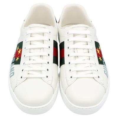 Gucci White Ace Gucci Band Sneakers Size UK 6 / EU 39 359624 - 2