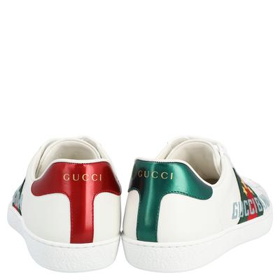 Gucci White Ace Gucci Band Sneakers Size UK 6 / EU 39 359624 - 4