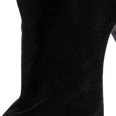 Le Silla Black Suede Lace Detail Heel Ankle Boots Size 40 360411 - 6