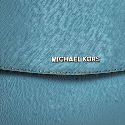 Michael Kors Blue Leather Medium Ava Top Handle Bag 360409 - 4