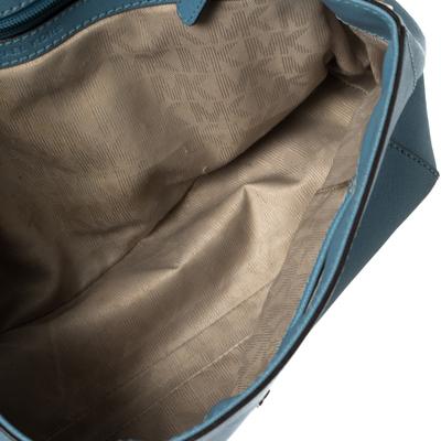 Michael Kors Blue Leather Medium Ava Top Handle Bag 360409 - 6