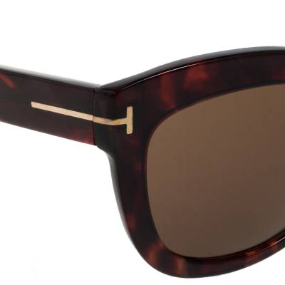Tom Ford Brown Tortoise Polarized Alistair Cat Eye Sunglasses 357424 - 3