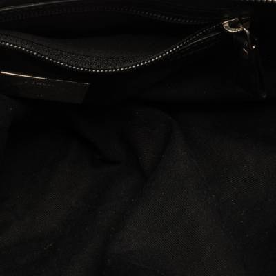 Bally Black Nylon and Leather Boston Bag 360076 - 6