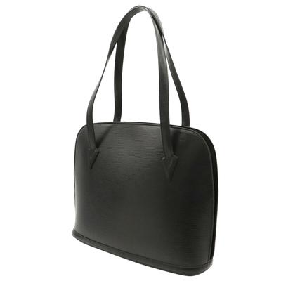Louis Vuitton Black Epi Leather Lussac Tote Bag 357624 - 1