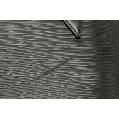 Louis Vuitton Black Epi Leather Lussac Tote Bag 357624 - 4