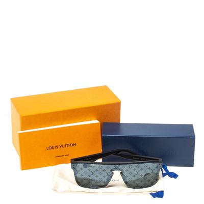 Louis Vuitton Black Monogram LV Waimea Shield Sunglasses 358281 - 6