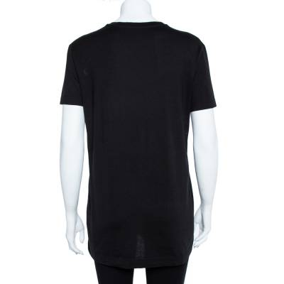 Dolce&Gabbana Black Cotton The Cool Ones T-Shirt S 360062 - 2