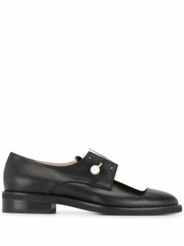 Coliac pearl bar pin oxford shoes CL2202