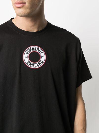 Burberry logo-appliqué short-sleeve T-shirt 8037047 - 5