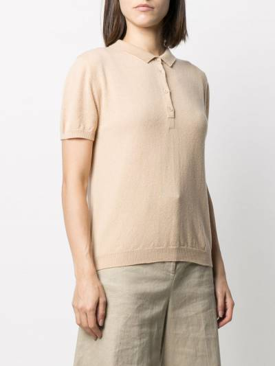 Incentive! Cashmere knitted polo shirt AR05POLCA - 3