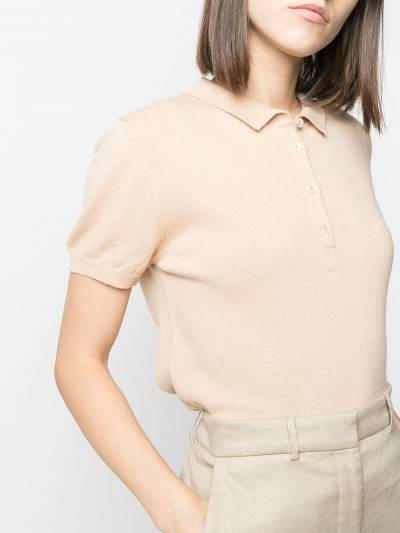 Incentive! Cashmere knitted polo shirt AR05POLCA - 5