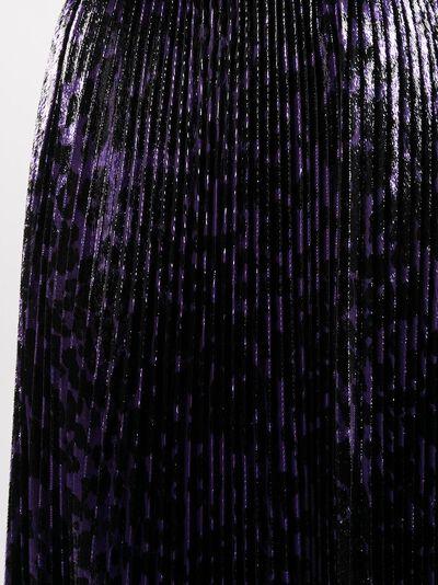 Dvf Diane Von Furstenberg плиссированная юбка миди Brett 15627DVF - 5