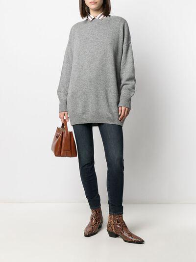 Incentive! Cashmere oversized cashmere jumper EL04PCA - 2