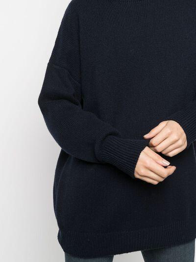 Incentive! Cashmere oversized cashmere jumper EL04PCA - 5
