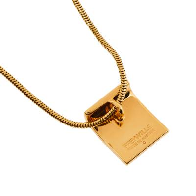 Frey Wille Ode to Joy of Life Fire Enamel Gold Plated Pendant Necklace 360078 - 2