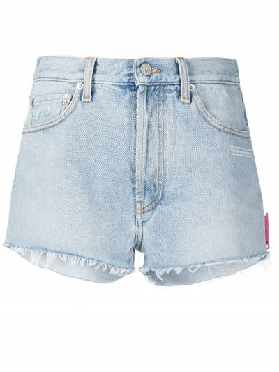 Off-White DENIM SHORTS LIGHT BLUE NO COLOR OWYC002R21DEN0014000 - 1