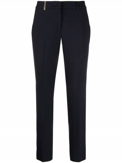 Peserico slim fit cropped trousers P0471801934 - 1