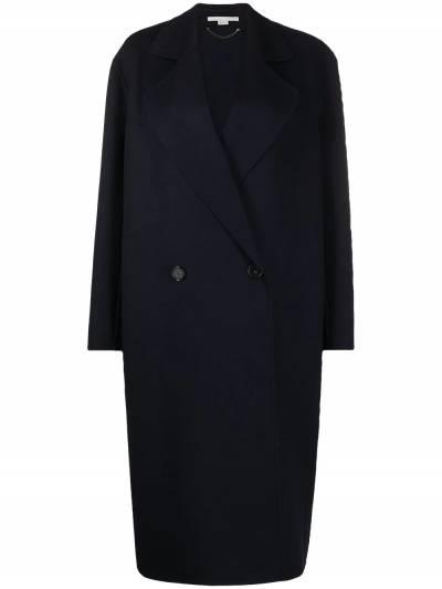 Stella McCartney double-breasted oversized wool coat 602900SPB05 - 1
