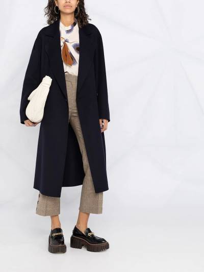 Stella McCartney double-breasted oversized wool coat 602900SPB05 - 2
