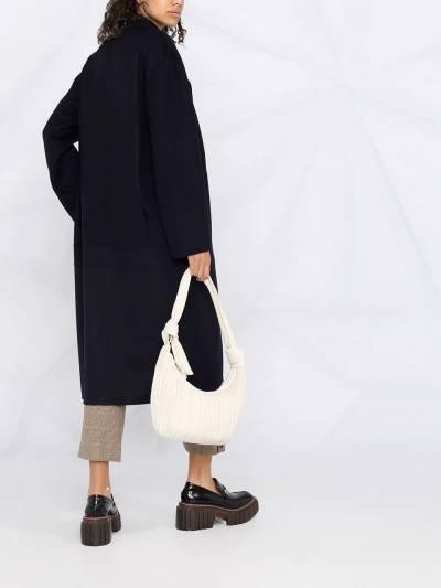 Stella McCartney double-breasted oversized wool coat 602900SPB05 - 4