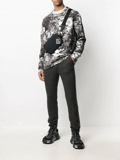 Dolce&Gabbana спортивные брюки кроя слим GWL6ATFM7CA - 2