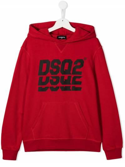Dsquared2 Kids худи с логотипом DQ0476D002G - 1