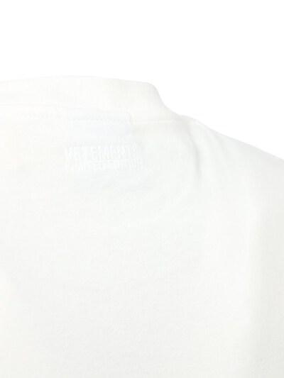 Хлопковая Футболка С Логотипом Vetements 73ILEY001-V0hJVEU1 - 6