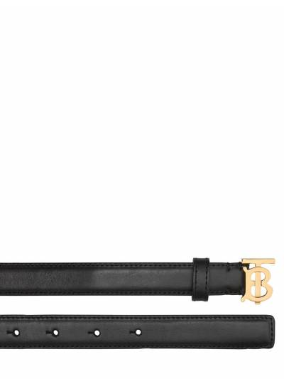Кожаный Ремень Tb 2см Burberry 73ID1H043-QTExODk1 - 2